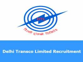 Delhi Transco Limited Recruitment 2019