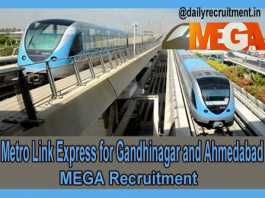 MEGA Recruitment 2019