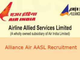 Alliance Air AASL Recruitment 2019