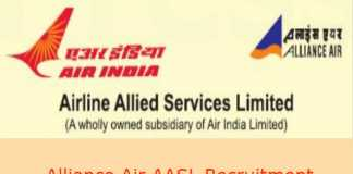 Alliance Air AASL Recruitment 2018