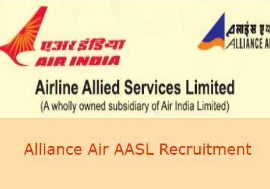 Alliance Air AASL Recruitment 2019