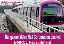BMRCL Recruitment 2018