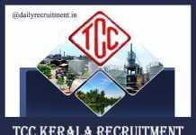 TCC Kerala Recruitment 2019
