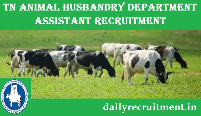 TN Animal Husbandry Recruitment , Animal Husbandry Interview
