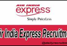 Air India Express Recruitment 2020