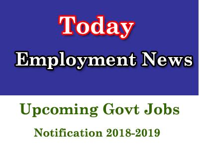 Latest Employment News 2018