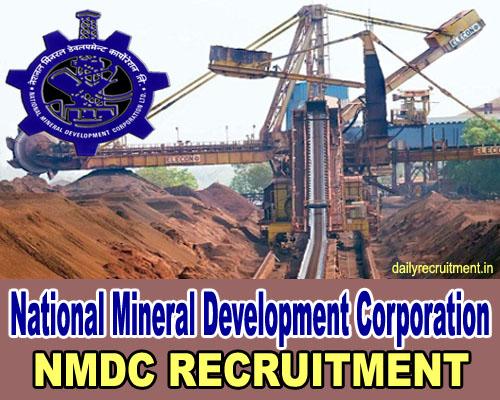 NMDC Recruitment 2020