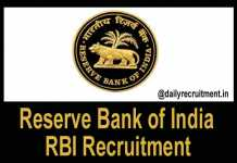 RBI Recruitment 2019