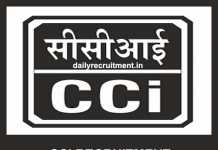 CCI Recruitment 2019