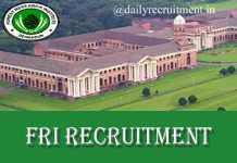 FRI Recruitment 2019
