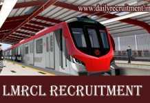 LMRCL Recruitment 2019
