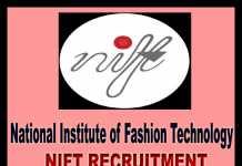 NIFT Recruitment 2019