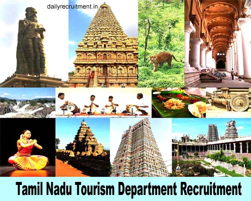Tamil Nadu Tourism Recruitment 2018, Apply Latest Job Vacancies