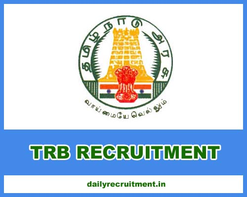 TRB Recruitment 2021