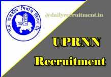 uprnn recruitment 2018
