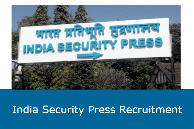 India Security Press Recruitment 2020