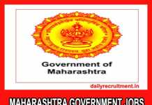 Maharashtra Government Jobs 2019