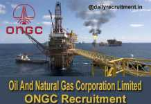 ONGC Recruitment 2019
