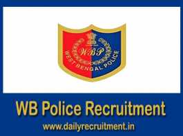WB Police Recruitment 2019