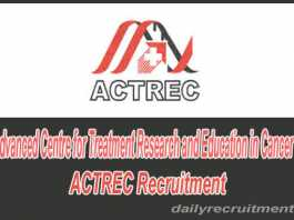 actrec recruitment 2019