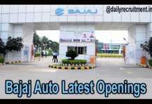 Bajaj Auto Careers 2019