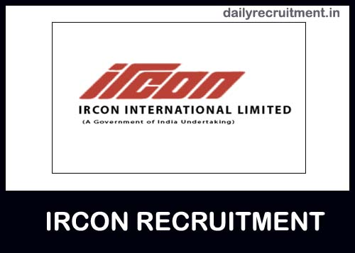 IRCON Recruitment 2020