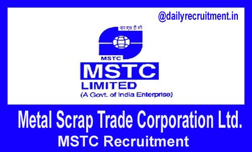 MSTC Recruitment 2018, 26 JCA, Peon & other Vacancies, Apply