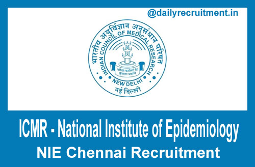 NIE Chennai Recruitment 2021