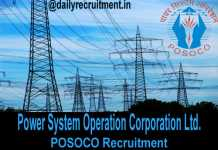 POSOCO Recruitment 2019