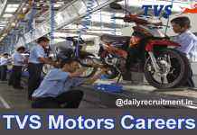TVS Motors Careers