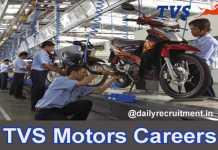TVS Motor Careers 2019