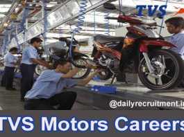 TVS Motor Careers 2020