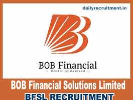 BFSL Recruitment 2018