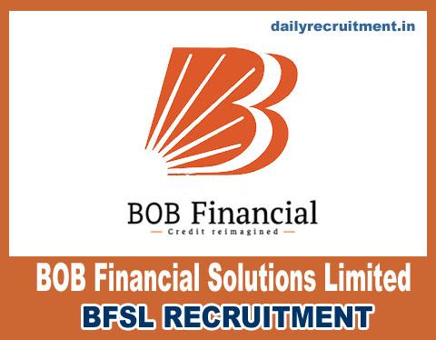 BFSL Recruitment 2020