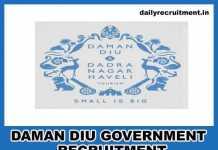 DAMAN DIU Government Jobs 2018