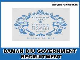 Daman Diu Government Jobs 2019