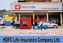 HDFC Life Recruitment 2019