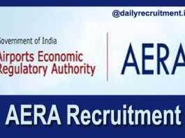 AERA Recruitment 2018