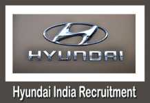 Hyundai India Recruitment 2019