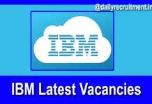 IBM Recruitment 2019
