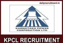 KPCL Recruitment 2019