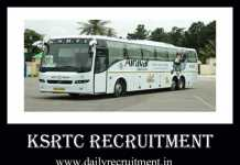 KSRTC Recruitment 2020