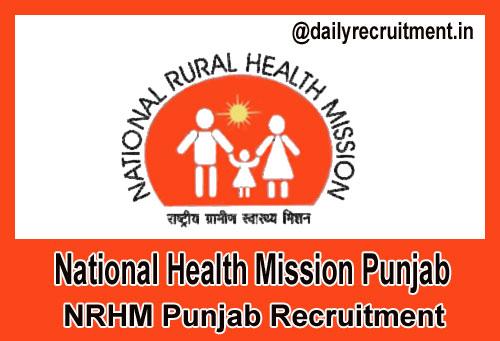 NRHM Punjab Recruitment 2019, 1127 CHOs & Various Vacancies