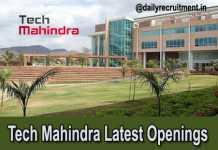 Tech Mahindra Recruitment 2019