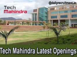 Tech Mahindra Recruitment