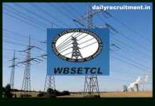 WBSETCL Recruitment 2019