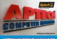 Aptech Current Vacancies