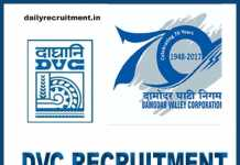 DVC Recruitment 2018