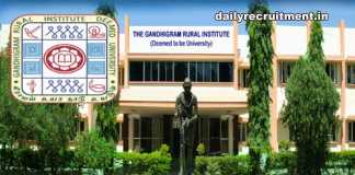 GRI Dindigul Recruitment 2019