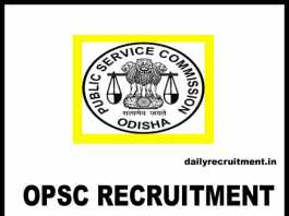 OPSC Recruitment 2018